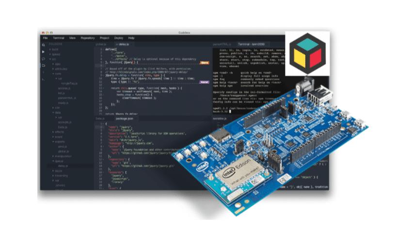 Codebox na Intel Edison